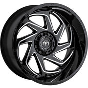 4-20x9 Black Milled Wheel Motiv Offroad Morph 426bm 8x170 18