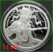 2015 5oz Trivium Girls Proof Silver Shield Group Ssg - Hard To Find