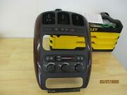 Chrysler Town And Country Heater Ac Climate Control Dash Panel Oem Trim 2001-2007