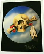 Stanley Mouse - Cyclops Giclee 17 X 22 Test Print Signed Grateful Dead Poster