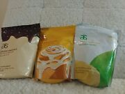 Arbonne Essentials - Vanilla Chocolate And Cake Marble Protein Shake Mix 2lb Bag