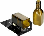 Glass Bottle Cutter Square And Round Bottle Cutting Machine Wine Bottles And