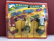 Vintage Rexall Kennedy Dime Store Racing Race Car Toys