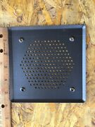 """Vintage West German 5"""" Square Car Speakers Pair With Grill New Mercedes Benz +"""