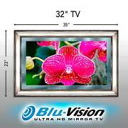 Spring Sale Mirror Tv Samsung 32 M4500 Series Smart Tizen Hdtv Silver Frame