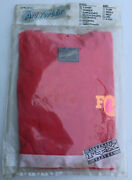 Rare Vintage Fox Racing Red T-shirt Nos Pacific Coast Size Large L Motocross Mx