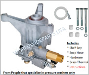 2800 Psi Power Pressure Washer Water Pump Excell Devilbiss Vr2522 Vr2320