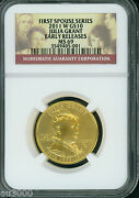 2011-w 10 Gold Julia Grant First Spouse Ngc Ms69 Ms-69 Er Early Releases
