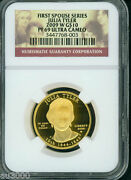 2009-w 10 Proof Gold Commemorative Julia Tyler First Spouse Ngc Pr69 Pf69