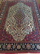 4x6 Ft Authentic Antique Handmade Wool Fine Quality Oriental Rug