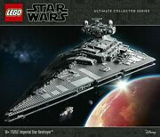 Lego 75252 Star Wars A New Hope Ucs Imperial Star Destroyer - New In Sealed Box