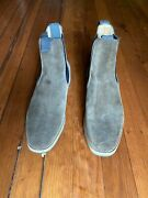 Blackstock And Weber Dark Tan Chelsea Boot With Crepe Sole 61/2 Uk 71/2 Us