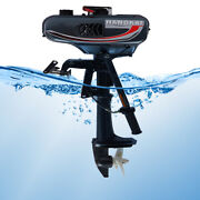 2 Stroke 3.5hp Outboard Fishing Boat Engine Motor Water Cooling Cdi System