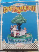 Vintage Enesco On A Bicycle Built For Two Deluxe Animated Action Musical