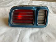 1971 Cuda Tail Light Barracuda Taillight Housing Lens Grill Grille Driver Side