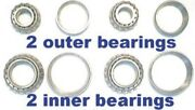 4 Front Wheel Bearings For Plymouth 1949 1950 1951 1952 1953 1954 -replace Old