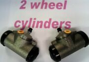 Rear Wheel Cylinders Chev And Corvette 1956 1957 1958 -for Your Brake Jobsave