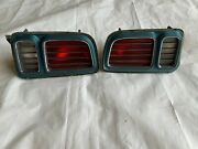 1971 Cuda Tail Light Barracuda Taillights Housings Lens Grill Grilles Pair