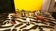 Schleich Papo New Ray Animals Figures Dragon Cow Horse Bear Bison Bull Gd Cond