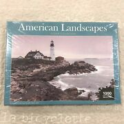 New American Landscapes Jigsaw Collection 1000 Piece Puzzle 30 Andtimes 20 Lighthouse