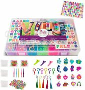 Band Refill Kit Rubber Includes 12000+ Pieces 28 Loom Bands