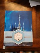 Disney Arendelle Frozen Castle Collection Journal With Poster In Hand Ships Now