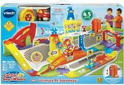 Vtech Go Go Smart Wheels Ultimate Rc Speedway Child Remote Control Race Toy