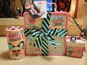 New Lol Deluxe Present Surprise Lot Pink