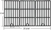 Cast Iron Cooking Grates Grid 3pc 17 3/4 For Kenmore Master Forge Perfect Flame