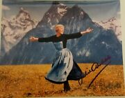 Julie Andrews Autographed The Sound Of Music Photo With Coa