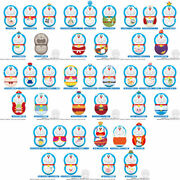 Bandai Coo'nuts Doraemon - Doraemon The Movie 40 Films - 20pack Box Candy Toy