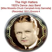 The High Hatters [mike Mosiello Chuck Campbell Andy Sannella] 1931 4 Listen Cd