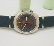 Rare Vintage 1967 Omega Chronostop Grey Dial Manual Wind Manand039s Watch