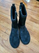Uggs Black Size 7 Thin Material Boots