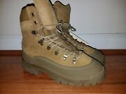 Us Army Mountain Combat Boot Mcb Size 8.0 R Coyote Nsn 8430-01-605-8615