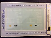 O Scale Microscale Decals 48-291 Canadian National Manitoba Box Cars
