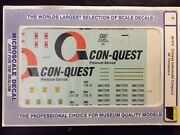 O Scale Microscale Decals 48-215 Conway Intermodal Conquest 48' Containers