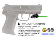 Armalaser Gto For Handk P30 And P30l Green Laser Sight W/flx17 Grip Touch Activation
