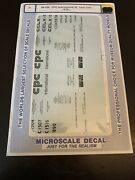 O Scale Microscale Decals 48-339 Cpc International 50' Tank Cars