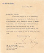Calvin Coolidge - Typed Letter Signed 12/20/1923