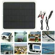 20w Solar Panel 12v Trickle Charge Battery Charger Maintainer Marine Rv Car T-it