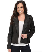 Scully Black Lolita Fine Leather Jacket Womenand039s Size Xs 1020