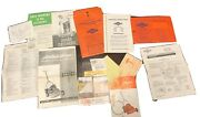 Vintage 1950s Briggs And Stratton Instructions And Atlas Aire Rotary Mower Ephemera