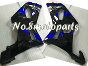 New Blue Black Injection Left Right Side Fairings Fit For 2000-2002 Gsxr 1000 K2