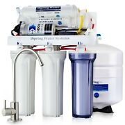 Ispring Rcc100p Reverse Osmosis Ro Water Filter System 5 Stage 100gpd W/ Pump