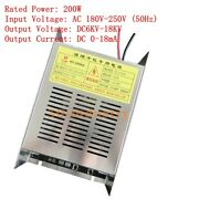 200w High Voltage Power Supply For Oil Fume Purifier Barbecue Smokeless