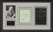 Harry S Truman - Typed Letter Signed 01/02/1951
