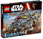 New Lego Star Wars 75157 Captain Rexand039s At-te - 972 Pcs
