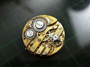 Pendant Girard Perregaux Watch Movement 29 Mm For Project, Parts Or Repair Rare