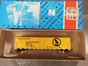 N Scale Con-cor Great Northern 50' Steel Reefer